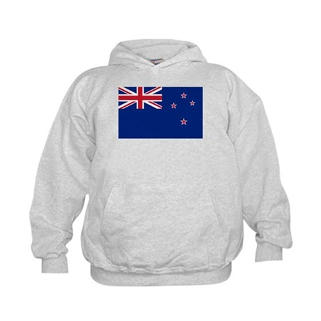 New Zealand Flag Kids Hoodie
