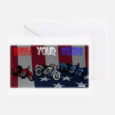 Show Your Colors Greeting Card