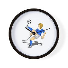 Soccer Shooter Wall Clock