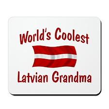 Coolest Latvian Grandma Mousepad