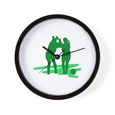Soccer Girl Wall Clock