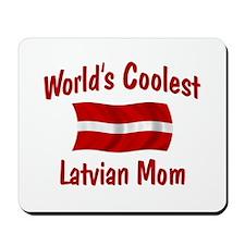 Coolest Latvian Mom Mousepad