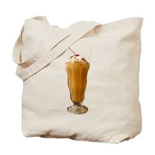 Chocolate Milkshake Tote Bag