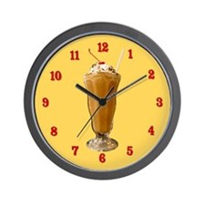 Chocolate Milkshake Wall Clock