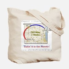 Great American Walk for Freed Tote Bag