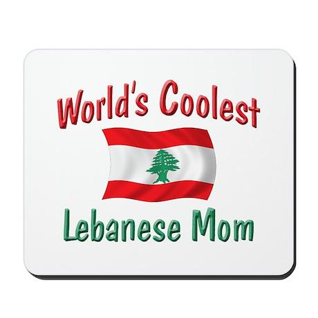 Coolest Lebanese Mom Mousepad