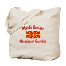 Coolest Macedonian Grandma Tote Bag