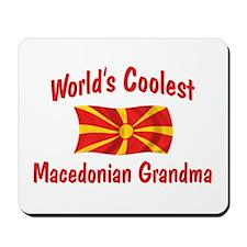 Coolest Macedonian Grandma Mousepad