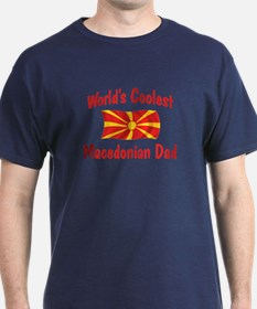 Coolest Macedonian Dad T-Shirt