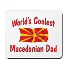 Coolest Macedonian Dad Mousepad