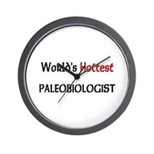 World's Hottest Paleobiologist Wall Clock