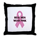 Real Men Wear Pink T-shirts. For Breast Cancer Awa