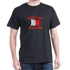 Coolest Maltese Dad T-Shirt