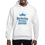1st Birthday Prince Zhyen! Hooded Sweatshirt