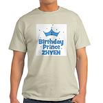 1st Birthday Prince Zhyen! Light T-Shirt