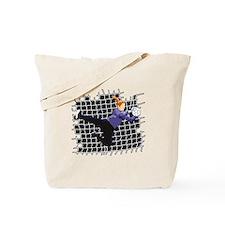 Soccer Girl Goalie Tote Bag