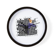 Soccer Girl Goalie Wall Clock