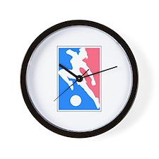Women's Soccer Wall Clock