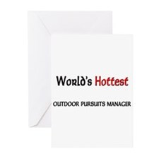 World's Hottest Outdoor Pursuits Manager Greeting