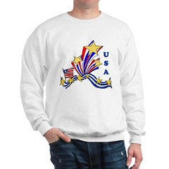 USA Stars and Stripes Sweatshirt