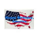 HAPPY BIRTHDAY, AMERICA Rectangle Magnet (100 pack