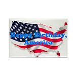 HAPPY BIRTHDAY, AMERICA Rectangle Magnet