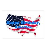 HAPPY BIRTHDAY, AMERICA Postcards (Package of 8)
