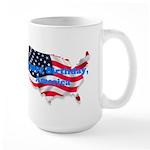 HAPPY BIRTHDAY, AMERICA Large Mug