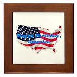HAPPY BIRTHDAY, AMERICA Framed Tile