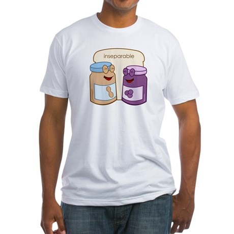 """""""Inseparable"""" Fitted T-Shirt"""