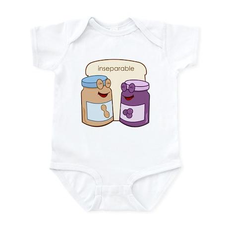 """Inseparable"" Infant Bodysuit"