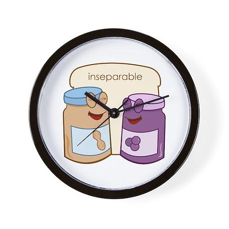 """""""Inseparable"""" Wall Clock"""