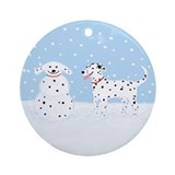 Dog Round Ornaments
