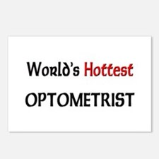 World's Hottest Optometrist Postcards (Package of