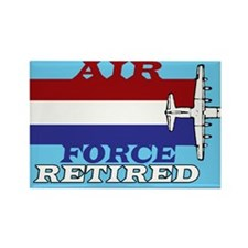 Air Force-Retired-6 Magnets