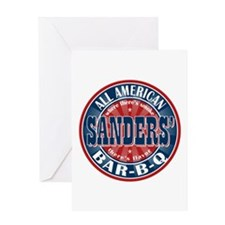 Sanders' All American BBQ Greeting Card