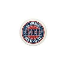 Sanders' All American BBQ Mini Button