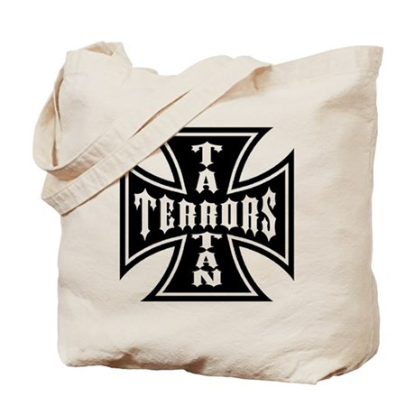 Tartan Terrors Iron Cross Tote Bag