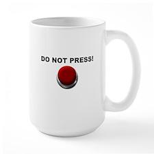 Do Not Press Mug