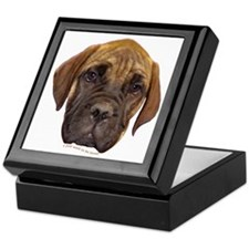 Bullmastiff Puppy Keepsake Box