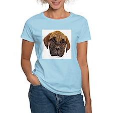 Bullmastiff Puppy Women's Pink T-Shirt
