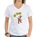 Australia day Womens V-Neck T-shirts