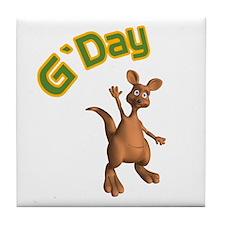 G'day Tile Coaster