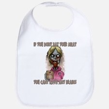 Mombie - Eat your Meat Bib