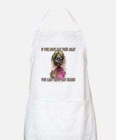 Mombie - Eat your Meat BBQ Apron