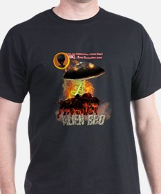 Alien Bar-B-Q For Dark Clothi T-Shirt