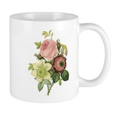 Vintage Roses Small Mug