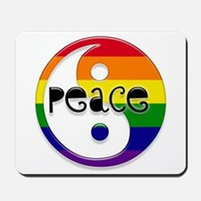 Gay Peace Mousepad