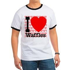 I Love Waffles T