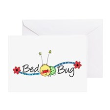 Bed Bug Greeting Card